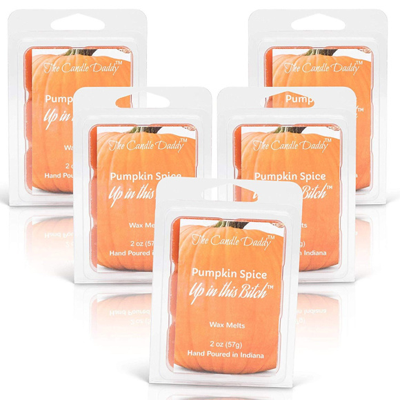 The Candle Daddy Other - 5 packs- Pumpkin Spice Up In This Bitch Wax Melts